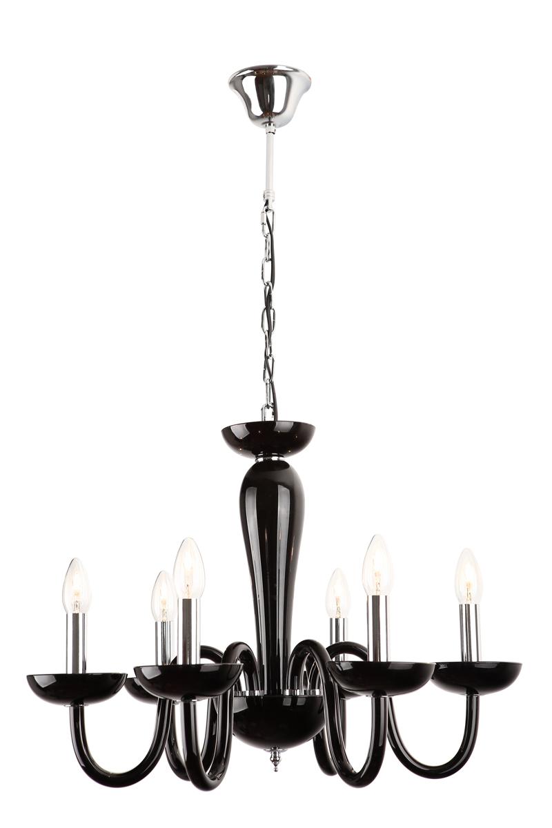 Závěsné svítidlo Maxlight IRIS černé, P0220