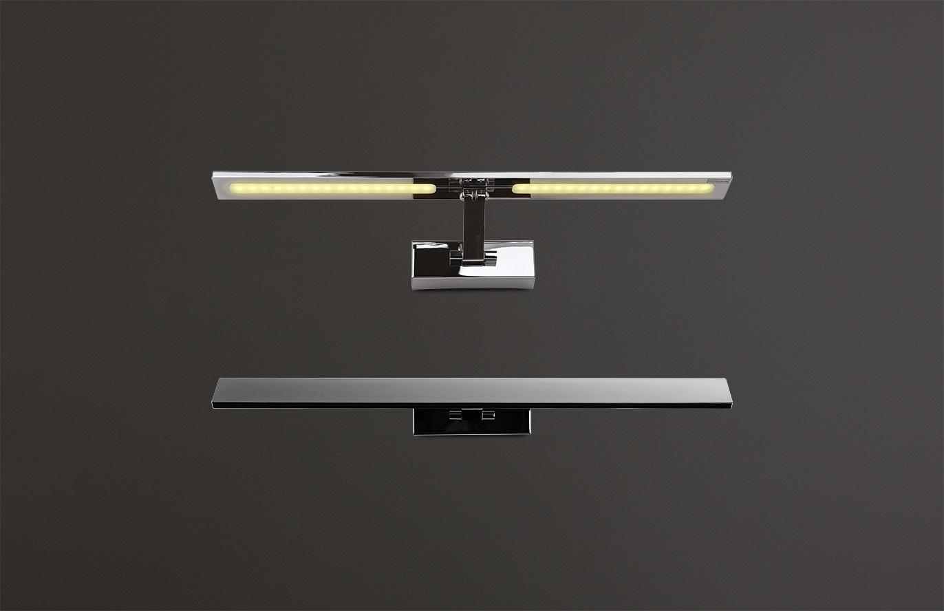 Nástěnné svítidlo Maxlight Panama L, chrom, W0111