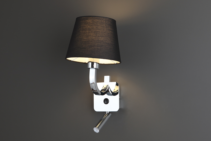 Nástěnné svítidlo Maxlight DENVER LED, černé, W0192