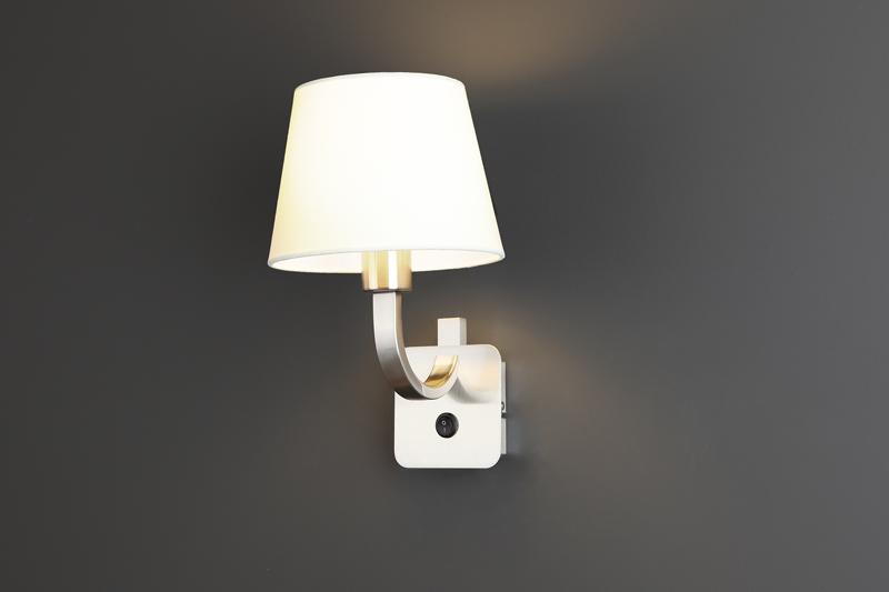 Nástěnné svítidlo Maxlight DENVER, bílé, W0189