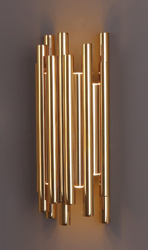 Nástěnné svítidlo Maxlight ORGANIC GOLD, W0187