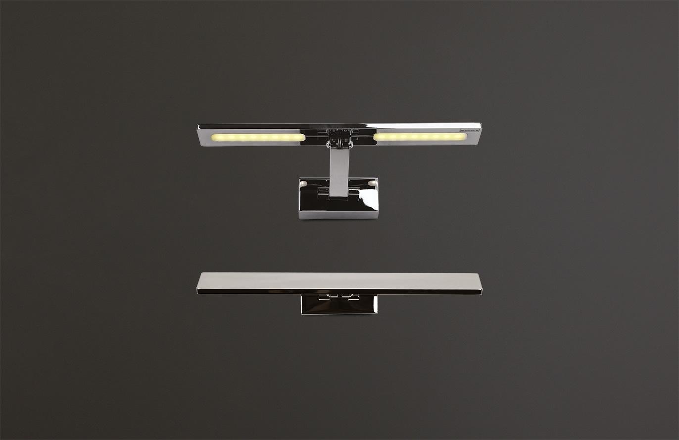 Nástěnné svítidlo Maxlight Panama S, chrom, W0109