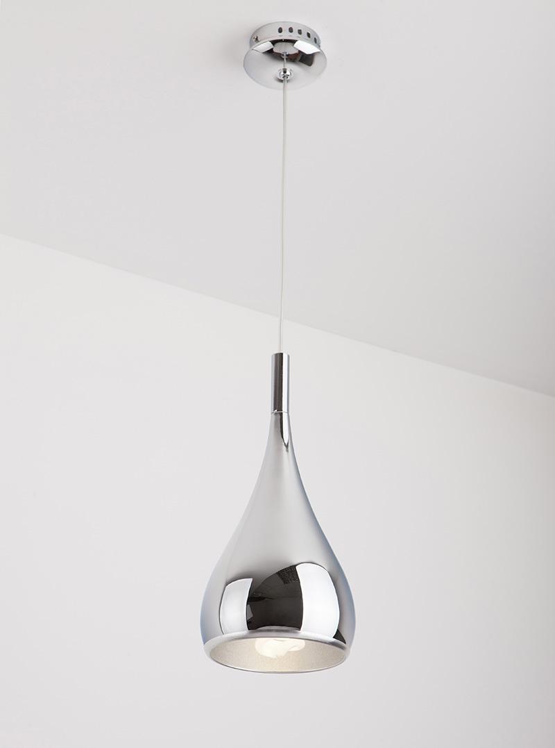 Závěsné svítidlo Maxlight VIGO I, chrom, P0201