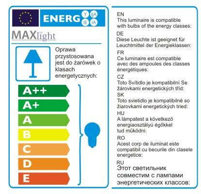 Závěsné svítidlo Maxlight Silver, P0054