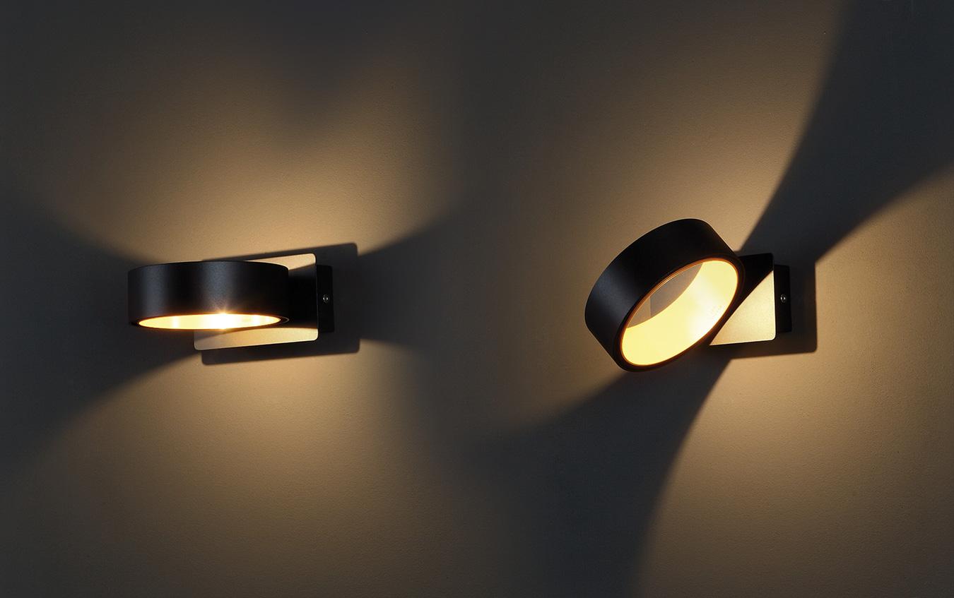 Nástěnné svítidlo Maxlight Tokyo I, černé, W0167