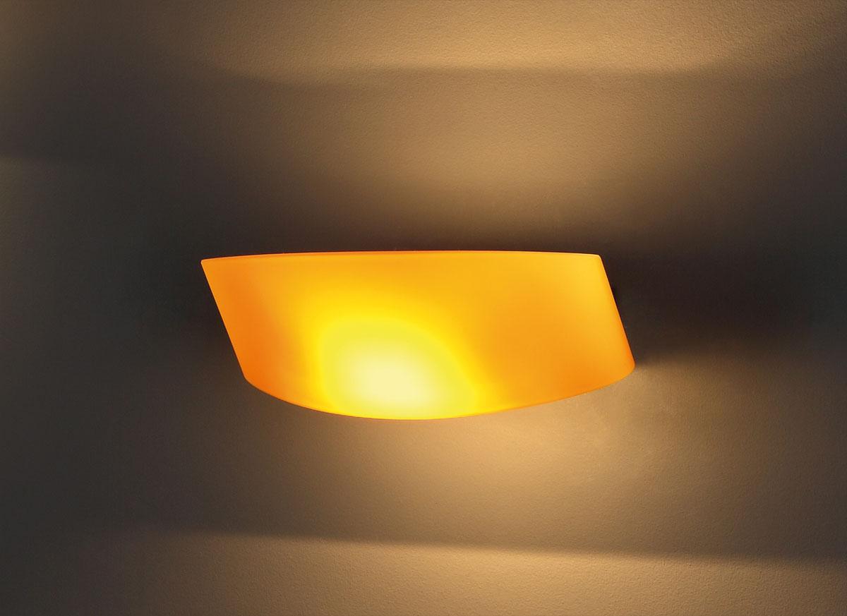 Nástěnné svítidlo Maxlight Parete, žluté, W0076