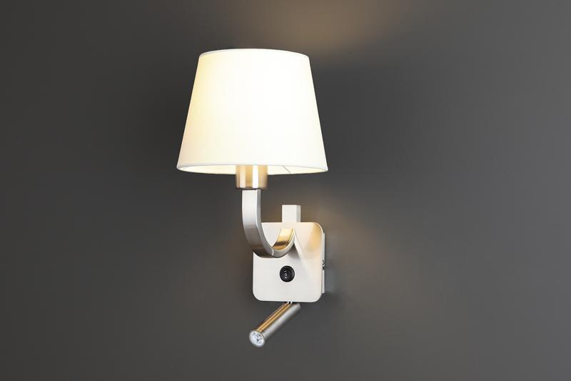 Nástěnné svítidlo Maxlight DENVER LED, bílé, W0191