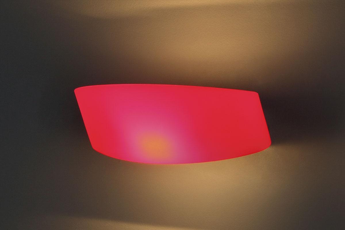 Nástěnné svítidlo Maxlight Parete, červené, W0077