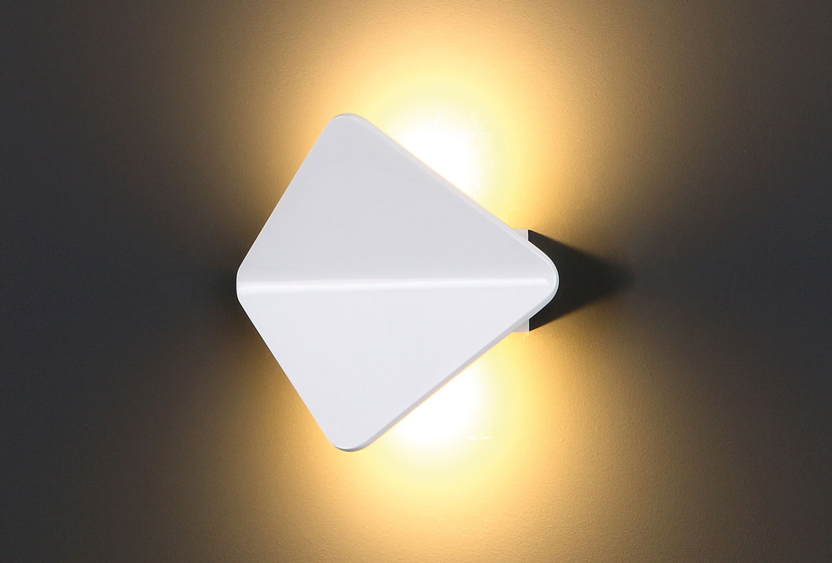 Nástěnné svítidlo Maxlight Tigra II, bílé, W0127
