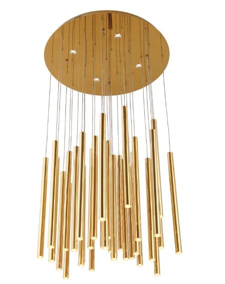 Závěsné svítidlo Maxlight Organic Gold, P0242