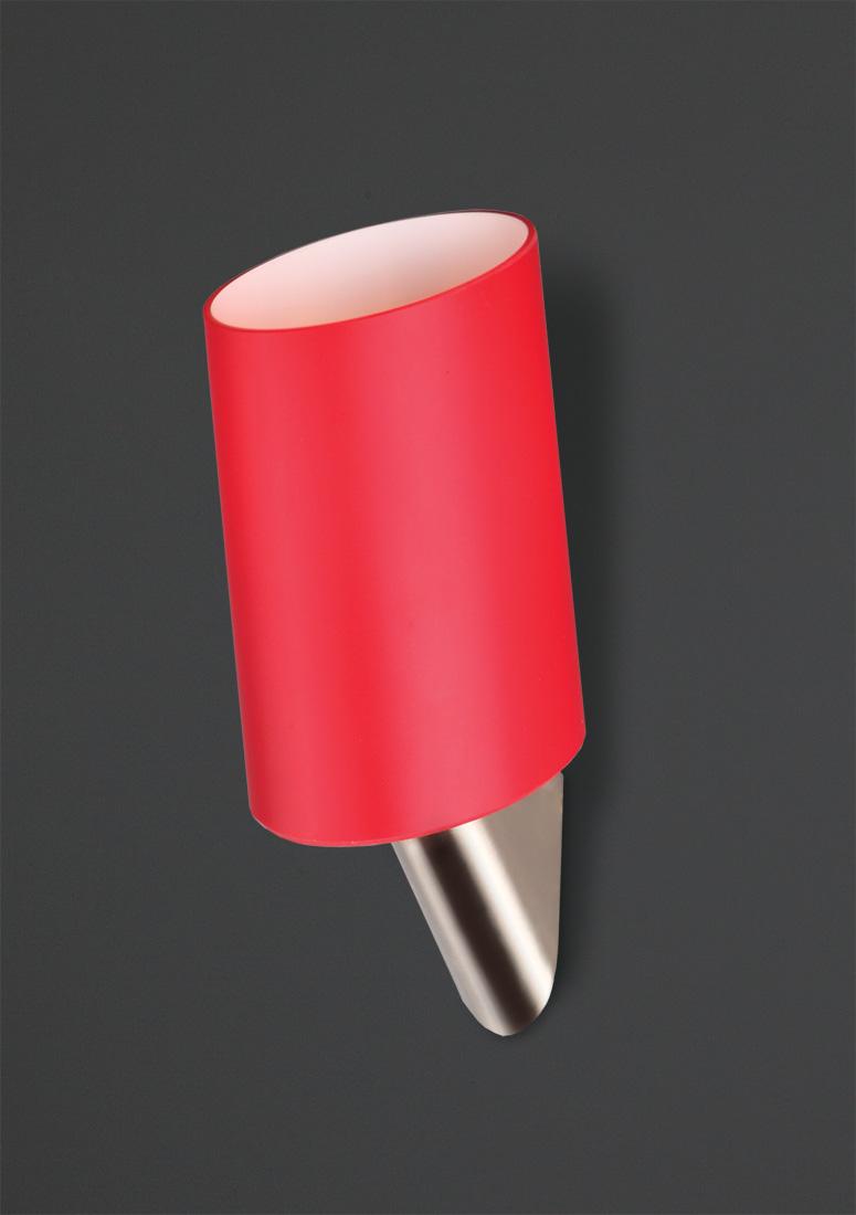 Nástěnné svítidlo Maxlight Kakadu, červené, W0071