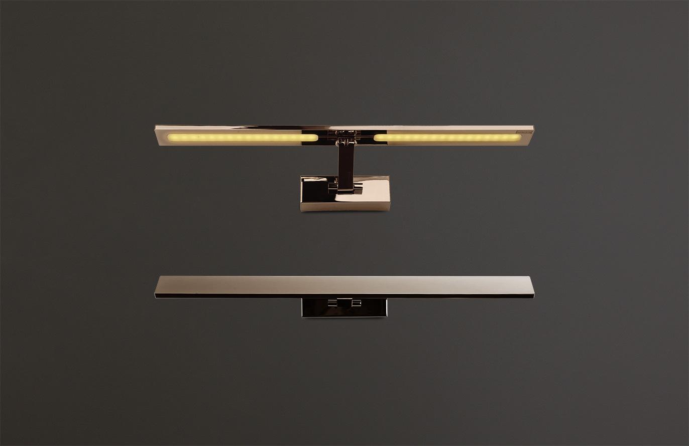 Nástěnné svítidlo Maxlight Panama L, nikl, W0112