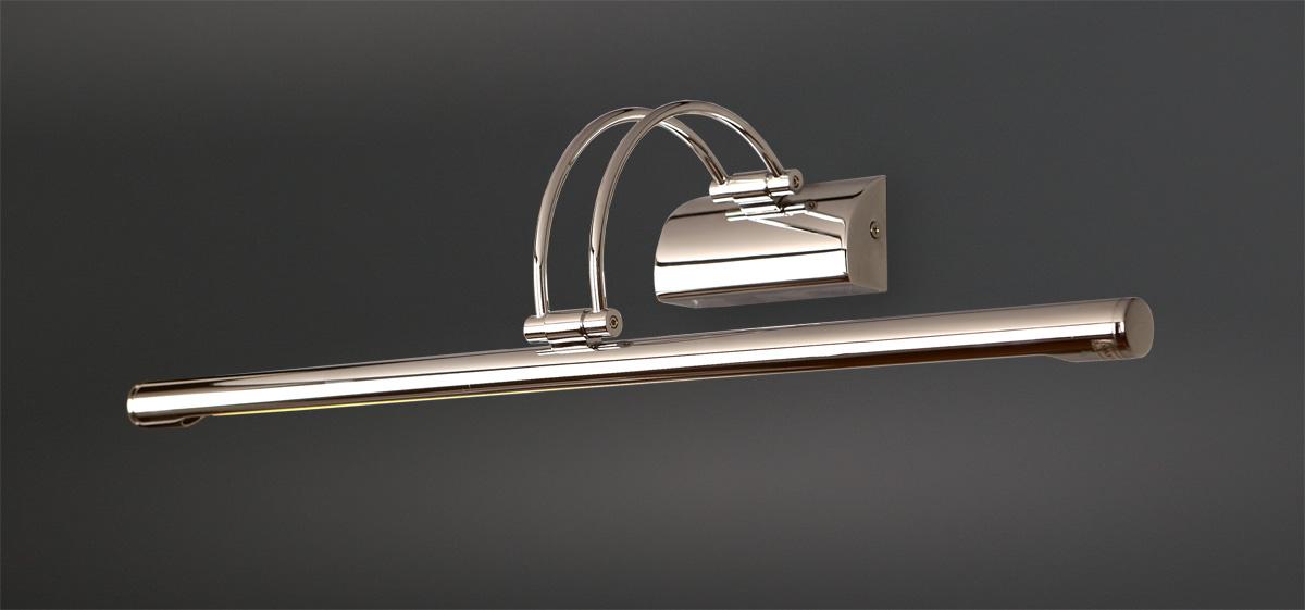 Nástěnné svítidlo Maxlight Roletto, broušená ocel, W0100