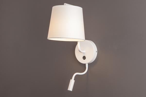 Nástěnné svítidlo Maxlight CHICAGO II LED, bílé, W0196