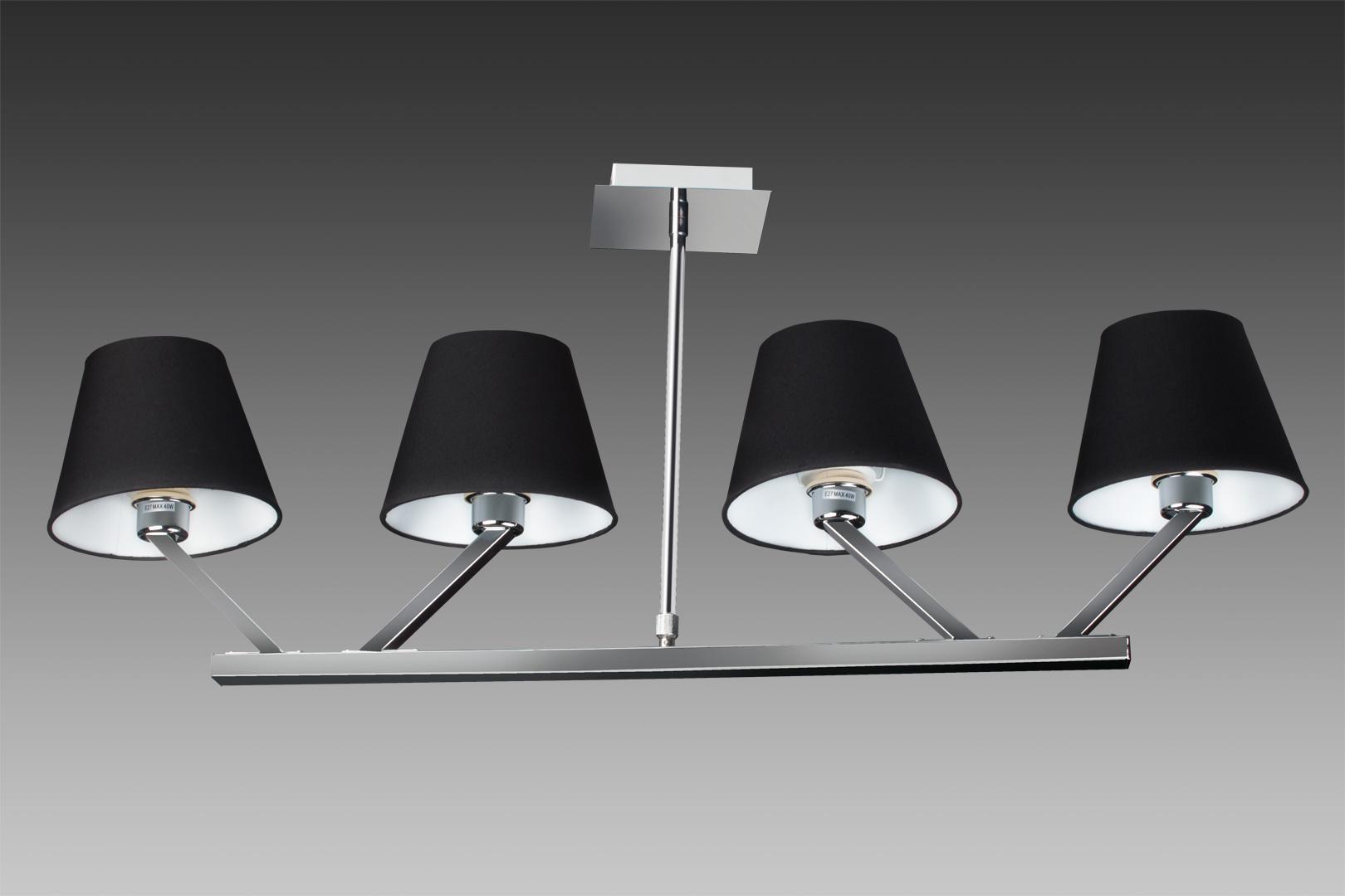Závěsné svítidlo Maxlight Orlando 4 5103/4A/BK