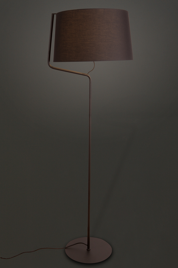 Stojací lampa Maxlight CHICAGO, černá, F0036