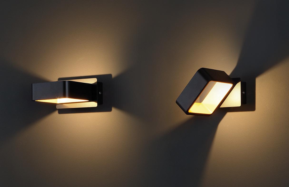 Nástěnné svítidlo Maxlight Tokyo II, černé, W0169